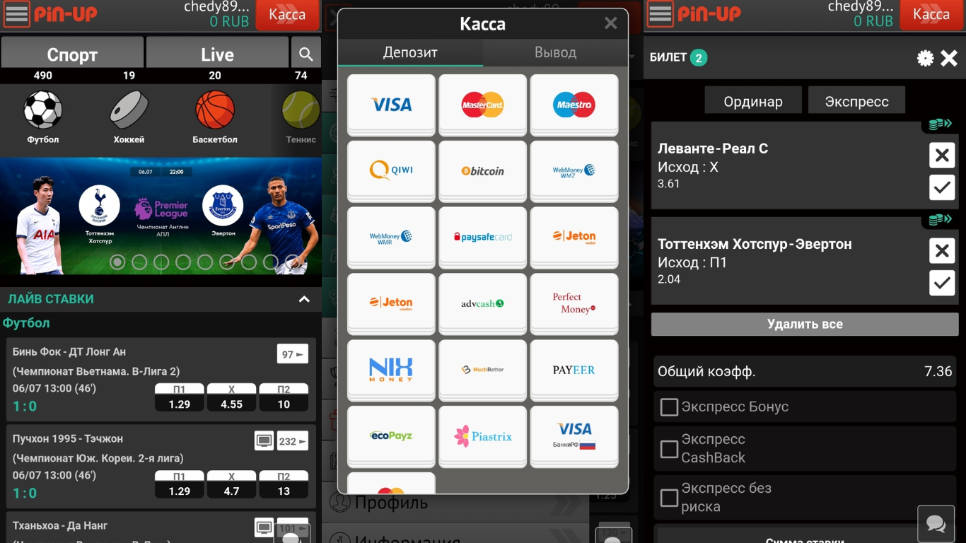 Приложение Pin Up Bet - скачать на Андроид